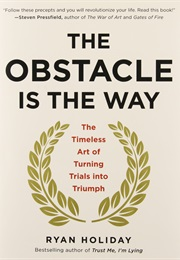 The Obstacle Is the Way - The Timeless Art of Turning Trials Into Triumph (Ryan Holiday)