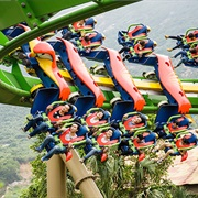 Parrot Coaster (Chimelong Ocean Kingdom, China)