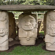 Ancient Statues of San Agustín, Colombia