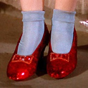 Ruby Slippers -Wizard of Oz