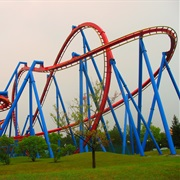 Superman - Ultimate Flight (Six Flags Great America, USA)