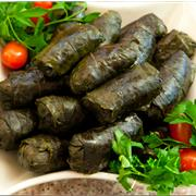 Dolmeh (Stuffed Grape Leaves)