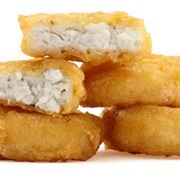 Fast Food Chicken Nuggets