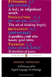 A Dictionary of the English Language (Samuel Johnson)