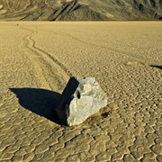 Rocks Walk the Earth at Racetrack Playa in Death Valley