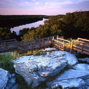Castle Rock State Park, Illinois