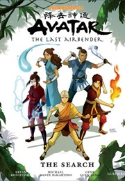 Avatar: The Last Airbender: The Search, Parts 1-3 (Gene Luen Yang)