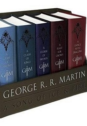 A Game of Thrones Boxed Set (George R R Martin)