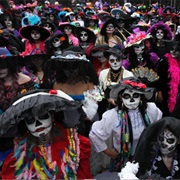 Dia De Muertos (Day of the Dead), Mexico City