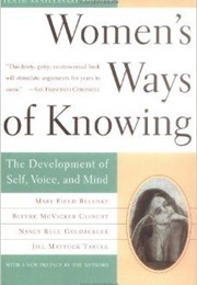 Women's Ways of Knowing (Mary Field Belenky)