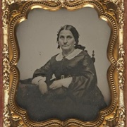 A Framed Black & White Photograph of a Relative