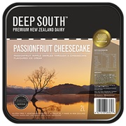 Deep South Passionfruit Cheesecake