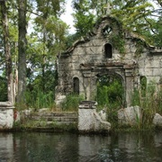 Spanish Mission in Cypress Gardens South Carolina (The Patriot)
