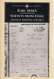 Surveys From Exile:  Political Writings Vol. 2 (Karl Marx)
