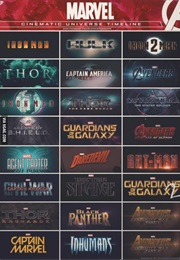 marvel film franchise