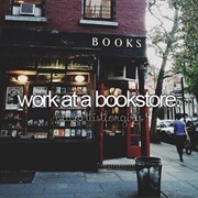 Work at a Bookstore