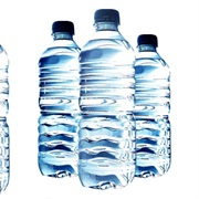 Bottled Water (Due to BPA Plastic)