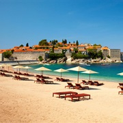 Relax on the Uncrowded Beaches of Montenegro