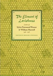 The Element of Lavishment (Sylvia Townsend Warner)