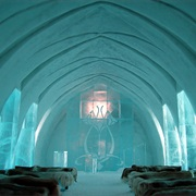 Spend a Night in a Ice Hotel