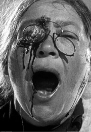 Woman Shot in Eye During Odessa Steps Massacre in Battleship Potemkin (1925)