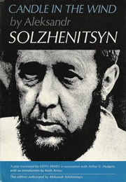 Candle in the Wind (Aleksandr Solzhenitsyn)