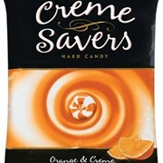 Orange and Creme Cremesavers