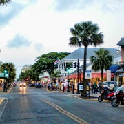 Duval Street in Key West