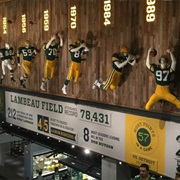 Green Bay Packers Hall of Fame (Green Bay, WI)