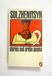 Stories and Prose Poems (Aleksandr Solzhenitsyn)