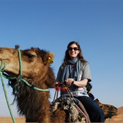 Go on a Camel Ride in Morocco