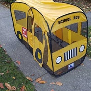 School Bus Pop Up Play Tent