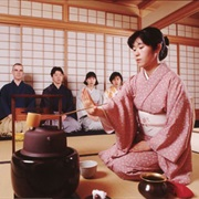 Attend a Japanese Tea Ceremony