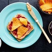 PB&J Sandwich With Doritos