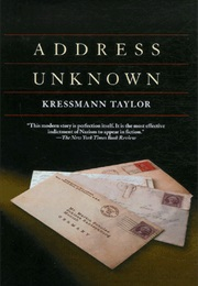 Address Unknown (Kressmann Taylor)