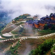 Longsheng Rice Terraces, Guangxi, China