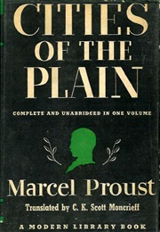 Cities of the Plain (Marcel Proust)