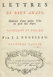 Julie, or the New Heloise (Jean-Jacques Rousseau)