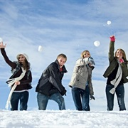 Snowball Fights!