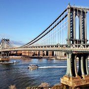 Manhattan Bridge, NYC, New York