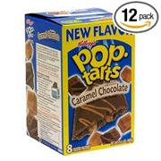 Frosted Caramel Chocolate Pop Tart