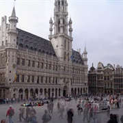 La Grand Place  (Brussels, Belgium)