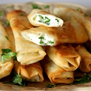 Feta Cheese Rolls