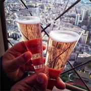 Drink Champagne on Top of the Eiffel Tower