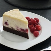 Brownie Raspberry Cheesecake