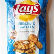 Lays Chicken and Waffles Chips