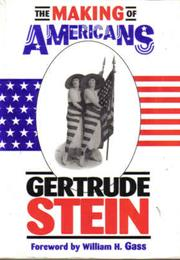 The Making of Americans (Gertrude Stein)