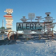 Alert, Nunavut, Canada (World's Northern Most Town)