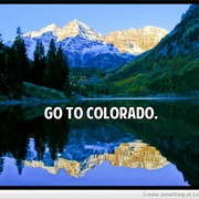 Go to Colorado