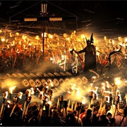 Up Helly Aa Fire Festival, Scotland